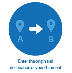Book your container shipment with iContainers step 1.