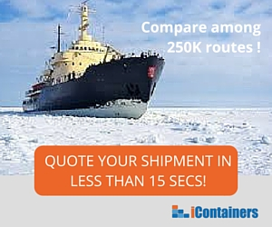 Ocean Freight through polar routes