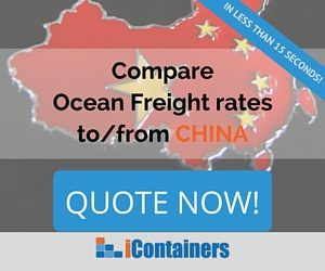 Ship containers to China CTA
