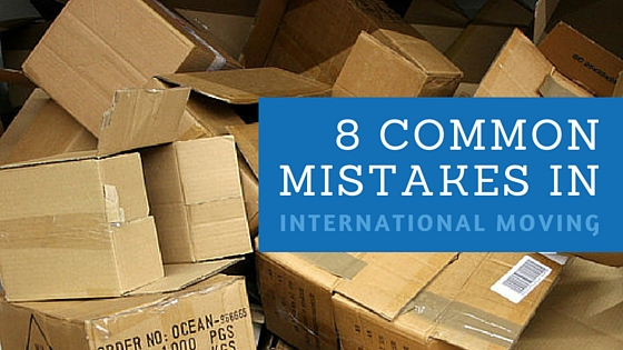 8 Common Mistakes When Moving Internationally
