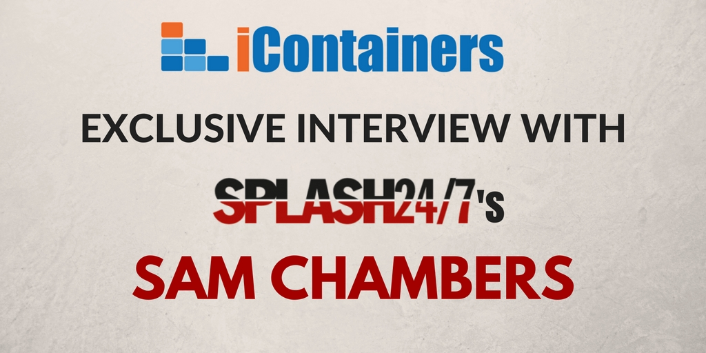 Exclusive interview with Sam Chambers