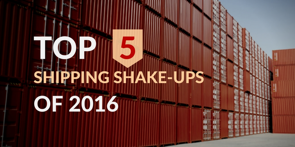 Top 5 shipping industry stories of 2016