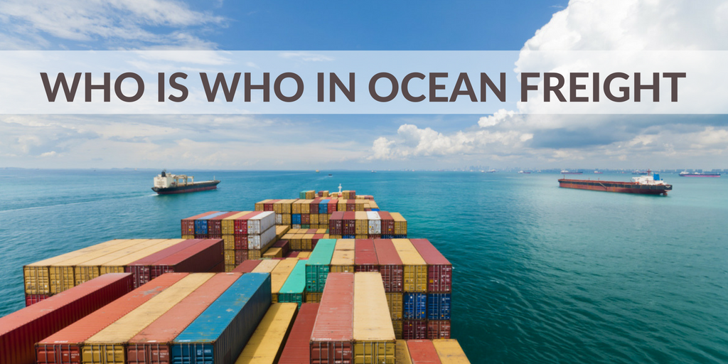 Who is who in ocean freight