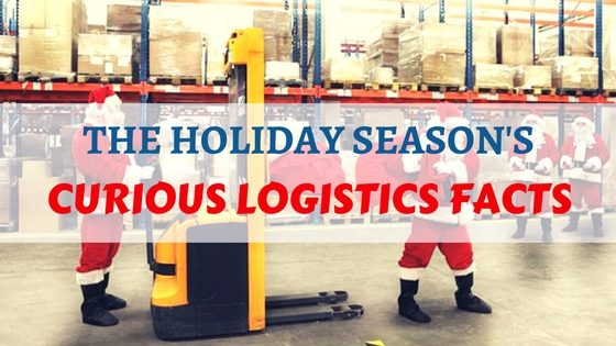 2015 holiday season infographic: Interesting logistics facts
