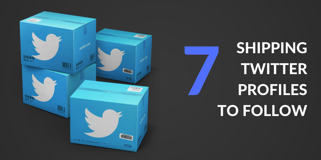 7 shipping Twitter profiles to follow