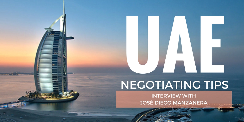 Tips on negotiating with the UAE