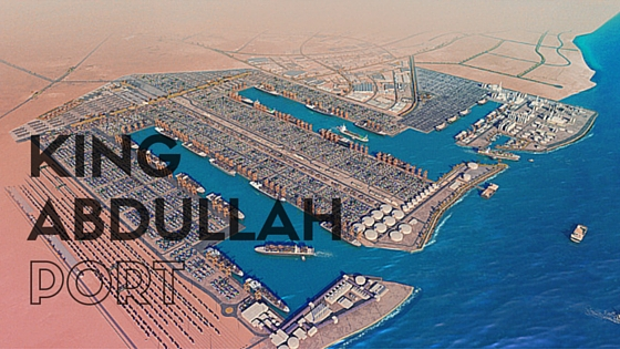 We bring you King Abdullah, the port of the future