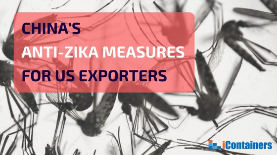 UPDATED: Anti-Zika treatment for US exports to China