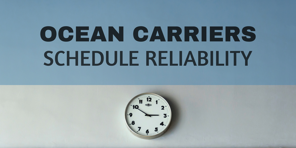 Carrier schedule reliability