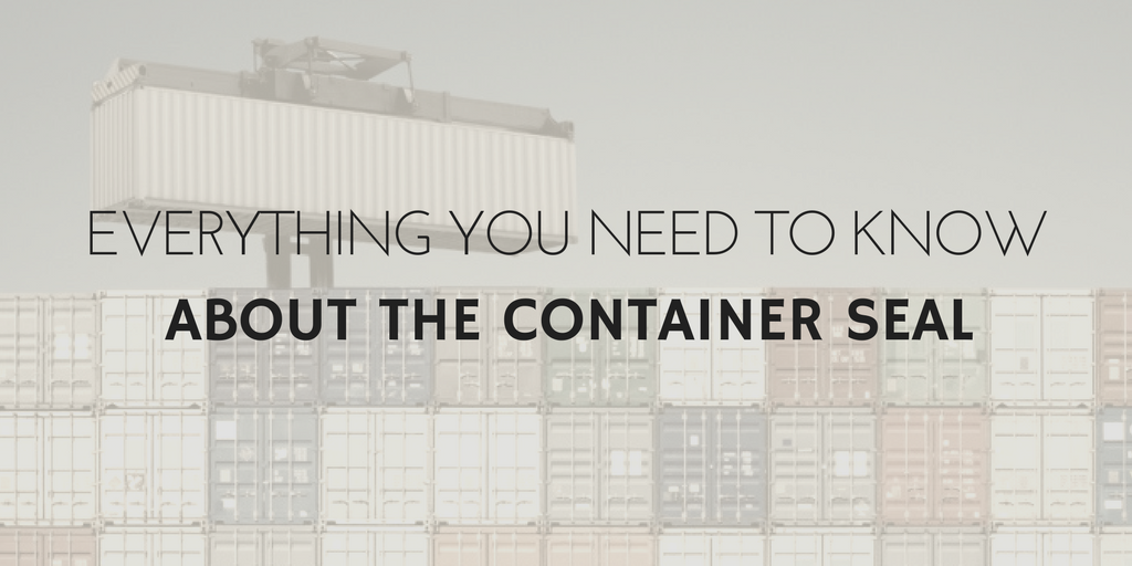 Everything you need to know about the container seal