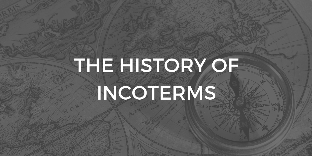 The history of Incoterms