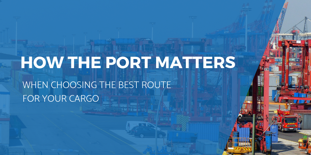 Why price should not be the main indicator of the best route for your shipment