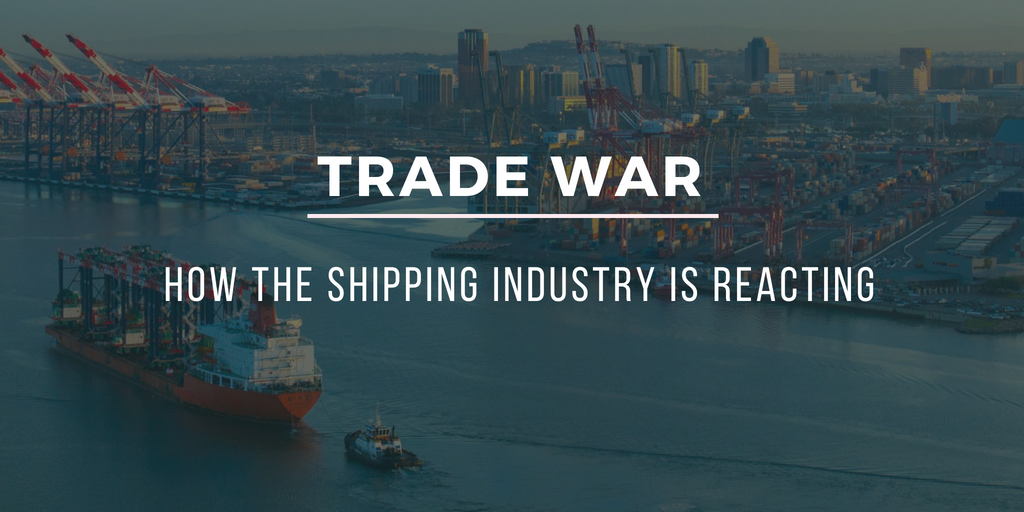 How the shipping industry is reacting to the trade war