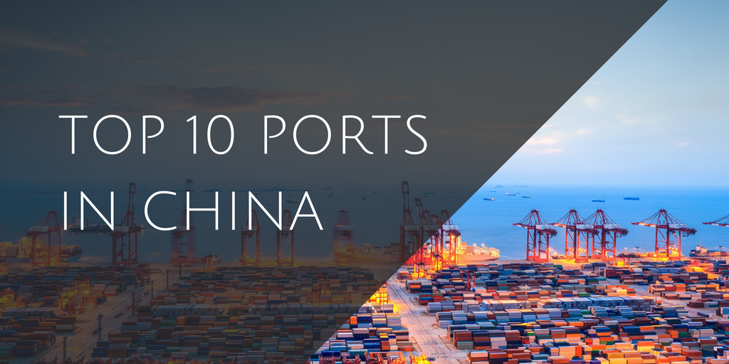 Top 10 ports in China