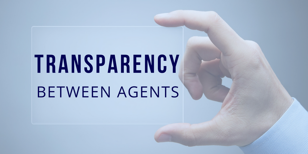 Transparency between agents