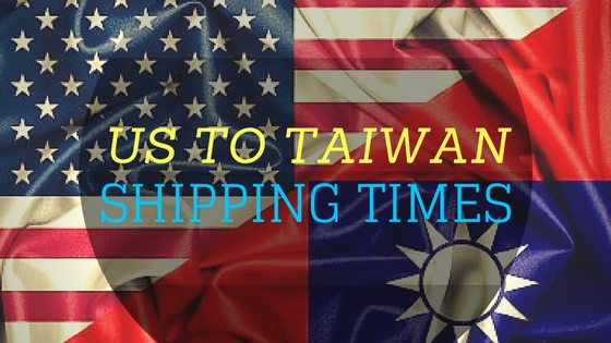 Infographic | US to Taiwan shipping times