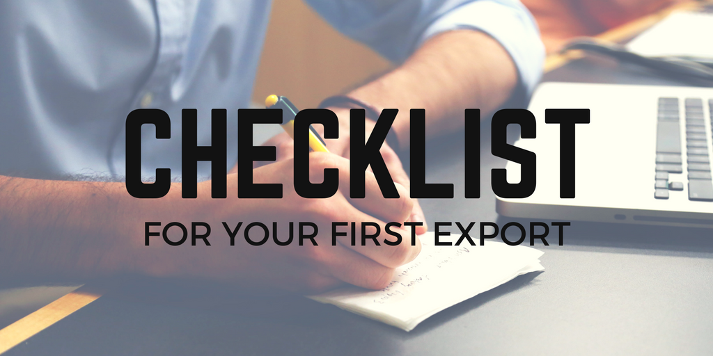 The ultimate export checklist