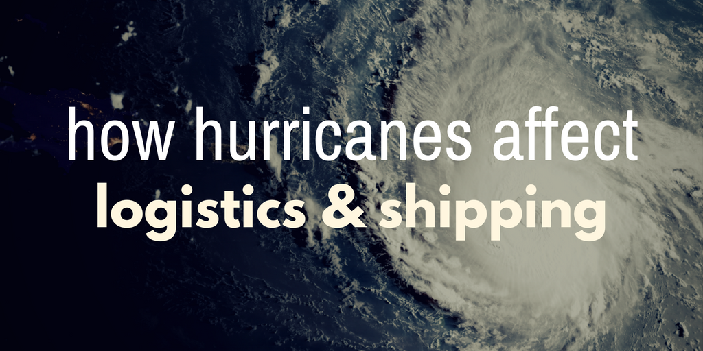 How hurricanes affect shipping and logistics