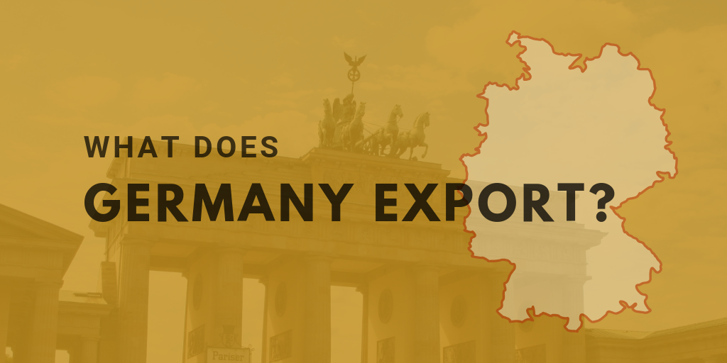 What does Germany export