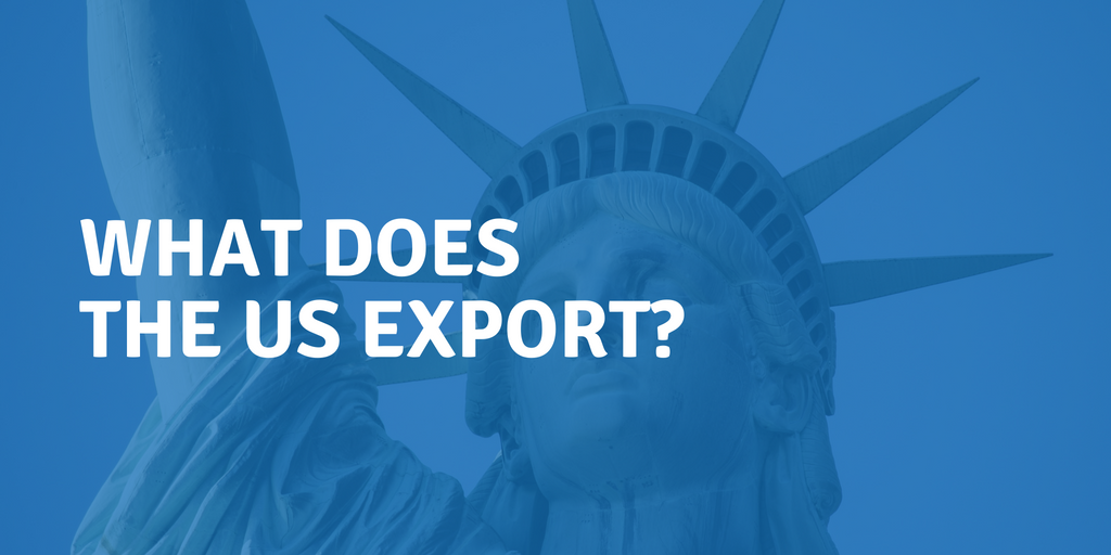 What does the US export?