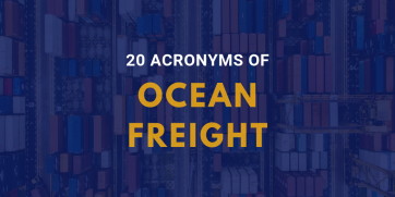 20 shipping acronyms all shippers should know - Infographic