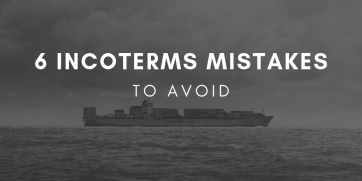 6 common Incoterms mistakes to avoid