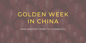 Golden Week in China: How logistics comes to a standstill