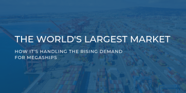 How the world's largest market is handling the rising demand for mega-ships