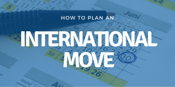 How to plan an international move