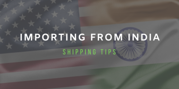 Import from India: Shipping tips