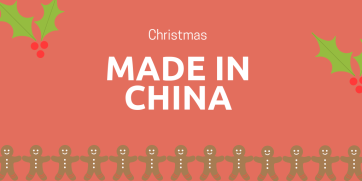 Is your Christmas made in China?
