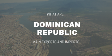 What are Dominican Republic main exports and imports?