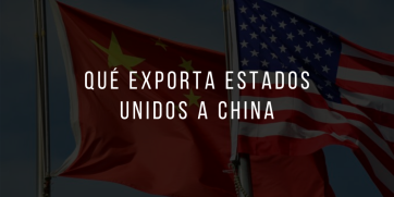 Qué exporta Estados Unidos a China