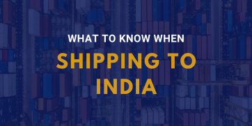 Shipping to India: 5 Things to Know