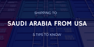 Shipping to Saudi Arabia from USA: 5 Tips to Know
