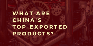 What does China export?