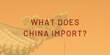 What does China import? - Infographic