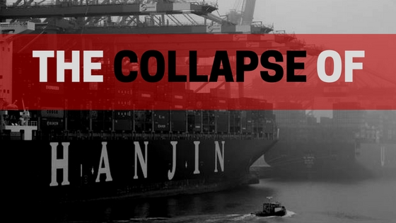 Collapse of Hanjin header iContainers