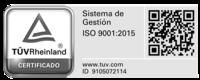 TÜV Rheinland certificado