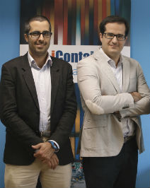 Founders of iContainers: Iván Tintoré and Carlos Hernández