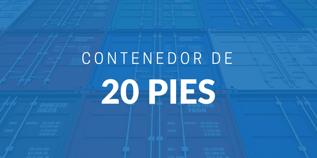 Contenedor De 20 Pies Icontainers