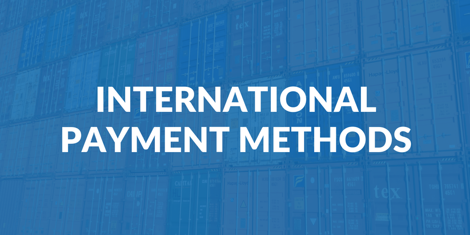 International payment methods
