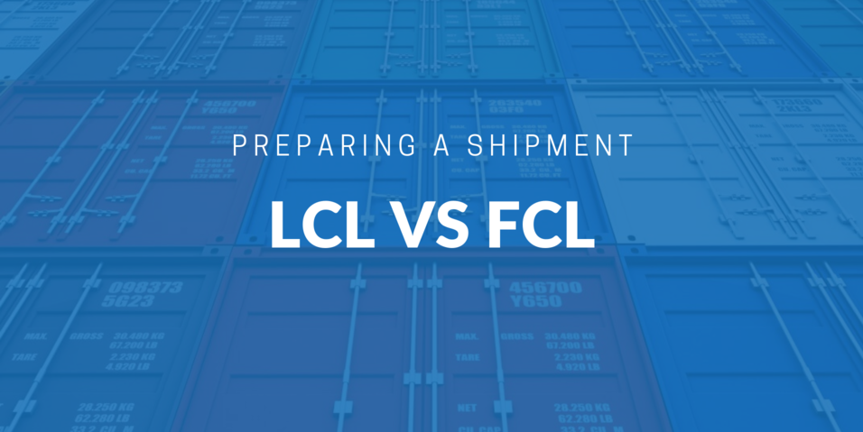 LCL vs FCL | iContainers