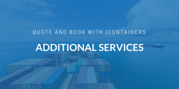 Selecting additional ocean freight services