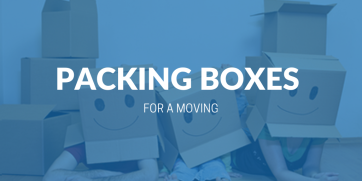 How to Pack Boxes When You Are Moving