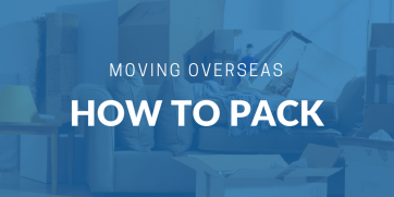 How to pack for an international move
