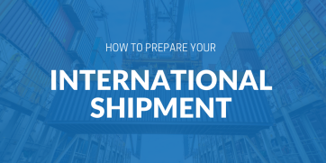 How to prepare your international shipment