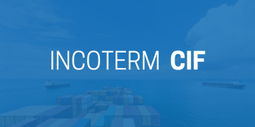 Incoterm CIF (Cost, Insurance and Freight)