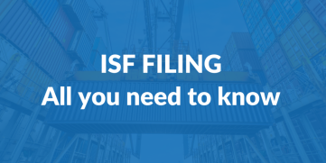 ISF Filing: All you need to know