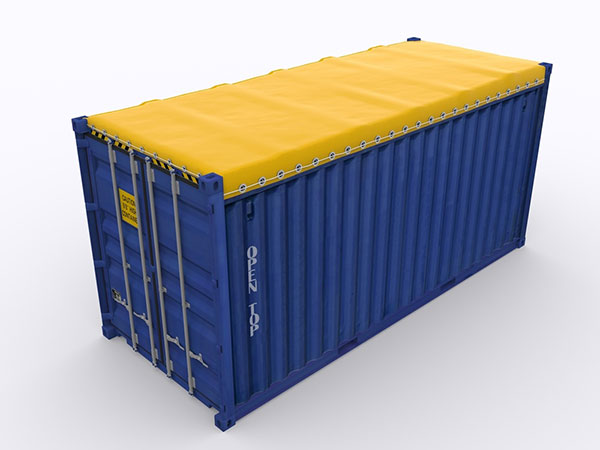 20 ft open top shipping container dimensions